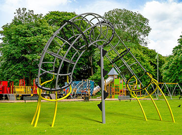Loly climber playground structure